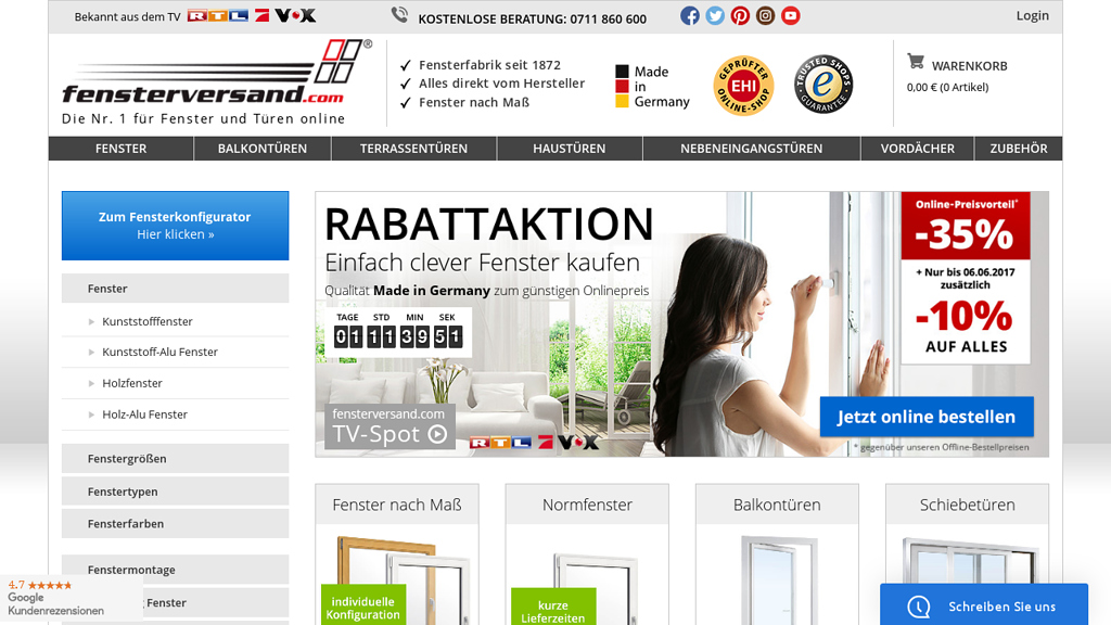 Fensterversand.com Store