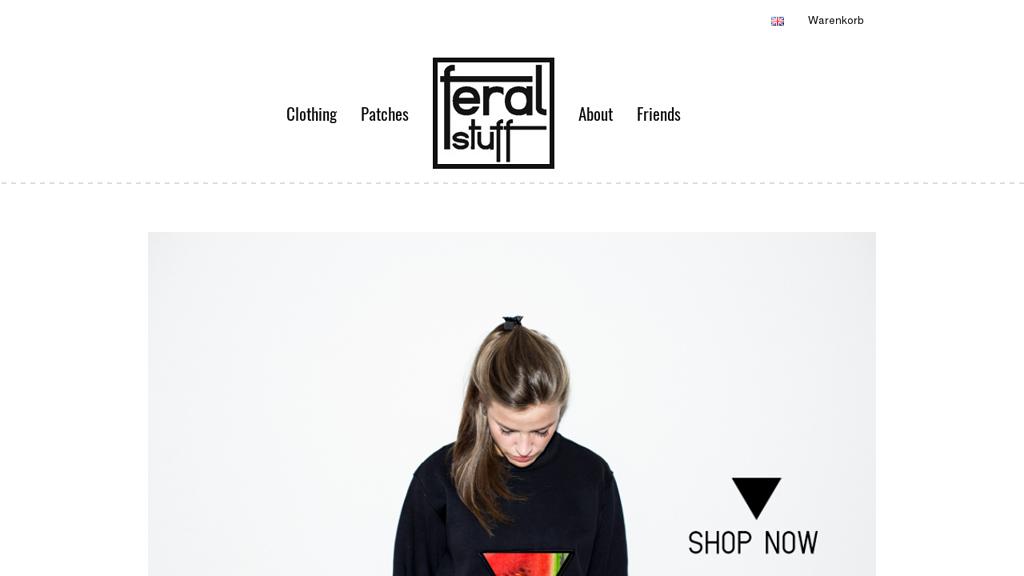 Feralstuff Online-Shop