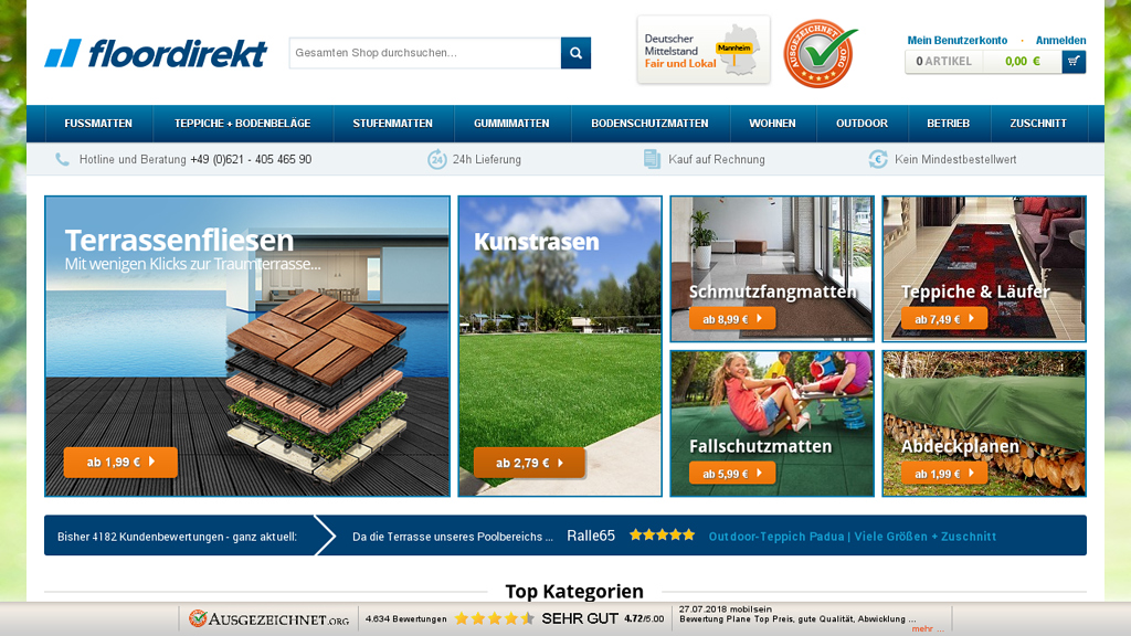 Floordirekt Online-Shop