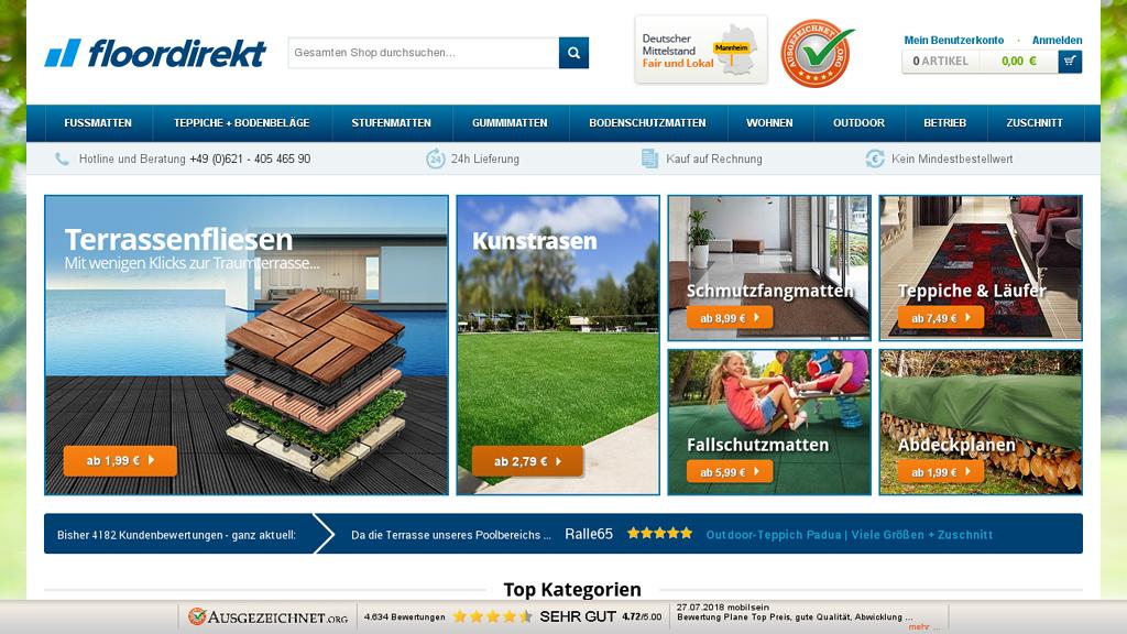 Floordirekt Online-Shop