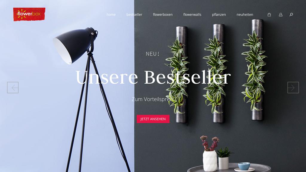 Flowerbox Online-Shop