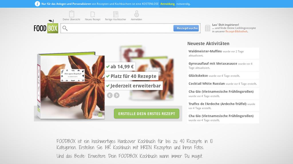 FOODBOX Online-Shop