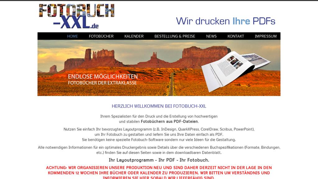 Fotobuch-XXL.de Online-Shop