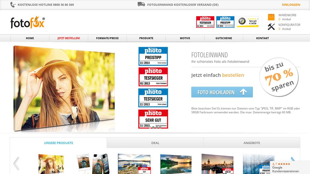 fotofox Online-Shop