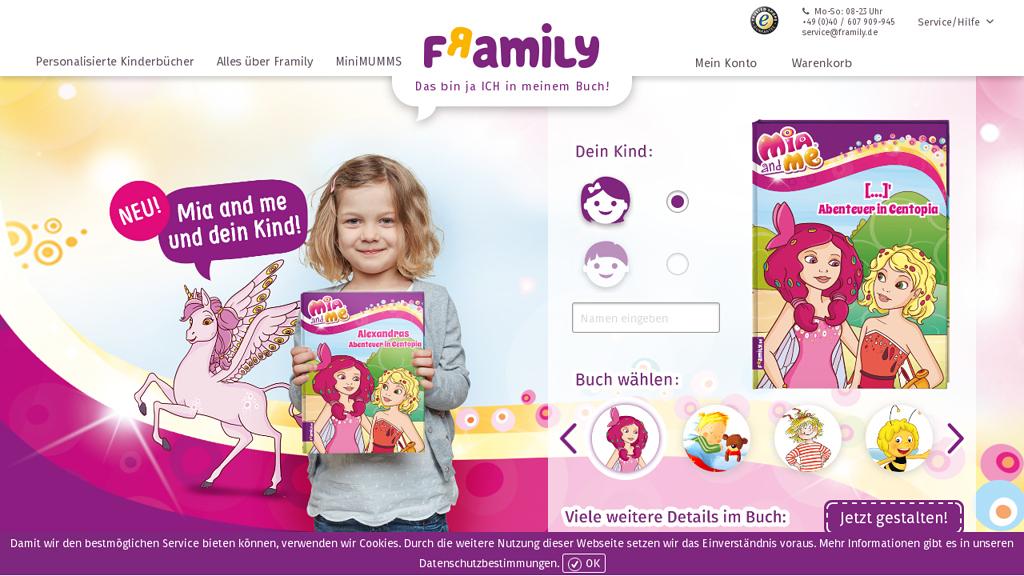 framily Online-Shop