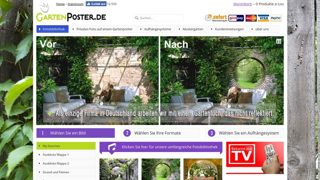 GartenPoster Online-Shop