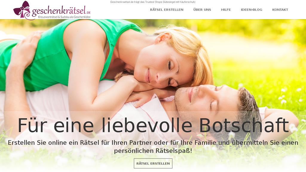 Geschenk-Rätsel Online-Shop