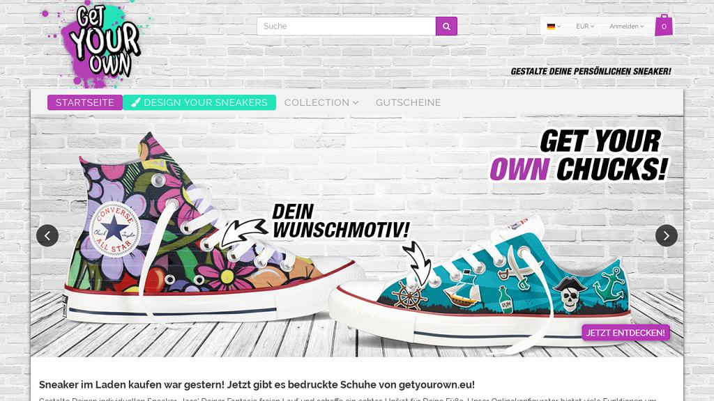getyourown Online-Shop