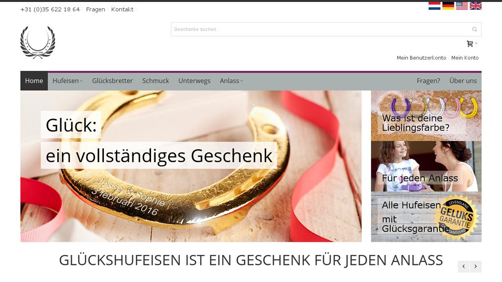 Glücksgeschenk Online-Shop
