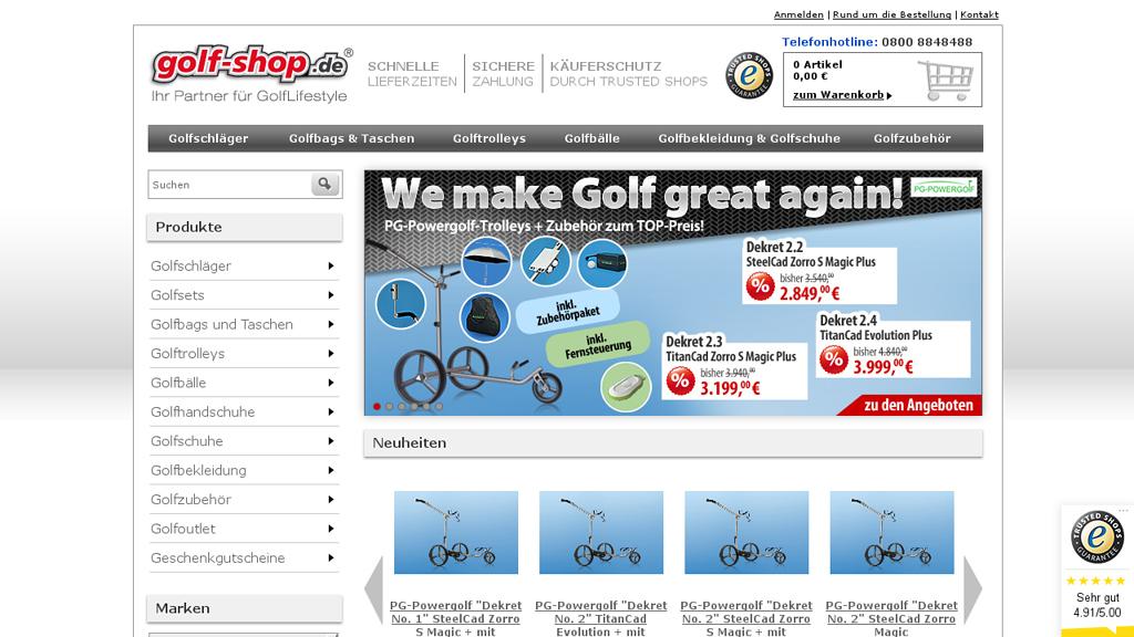Golf Shop Store