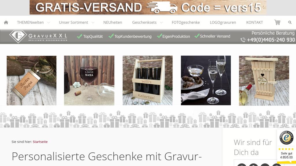 GravurXXL Store