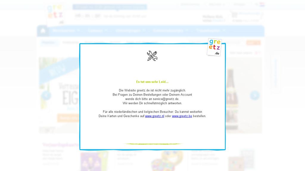 greetz Online-Shop