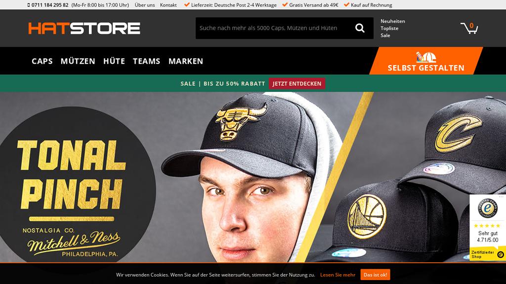 hatstore Online-Shop