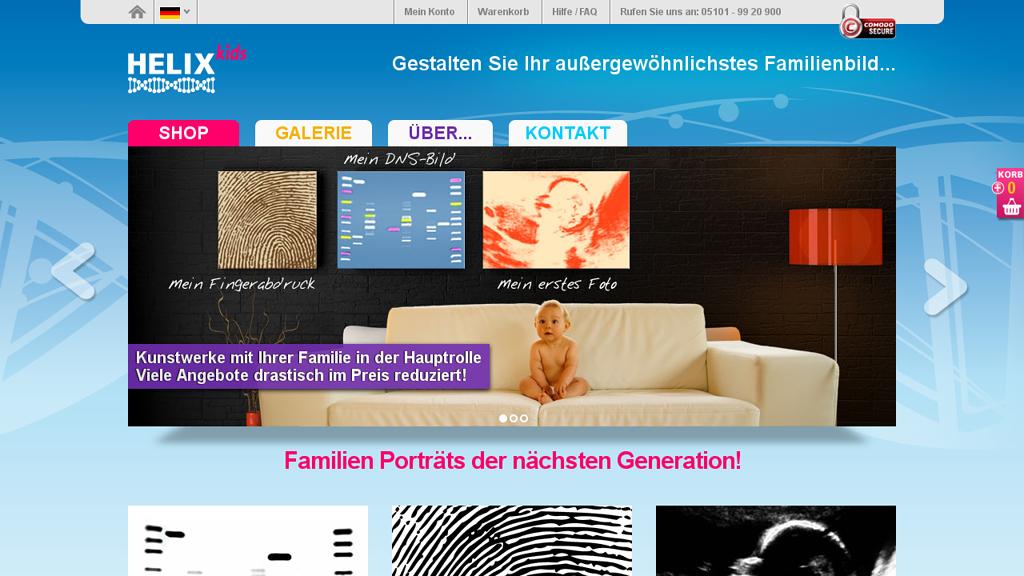 Helix kids Online-Shop