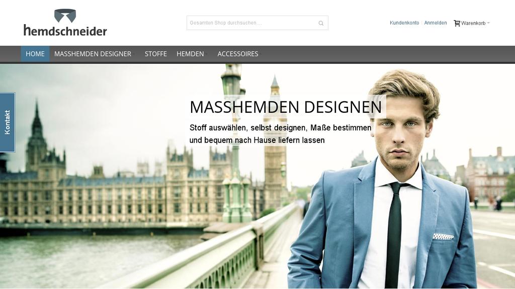 Hemdschneider Online-Shop