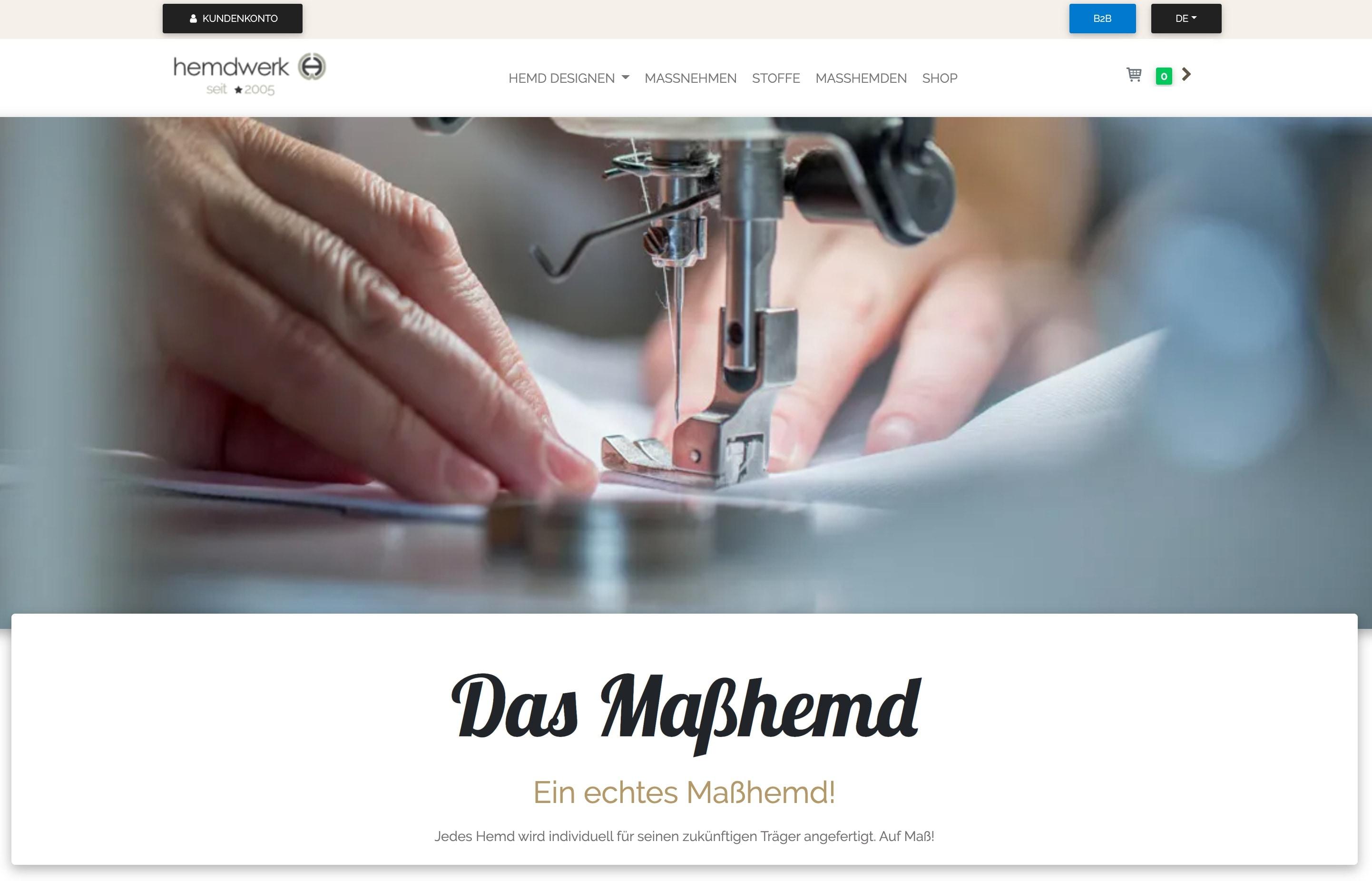 hemdwerk Online-Shop