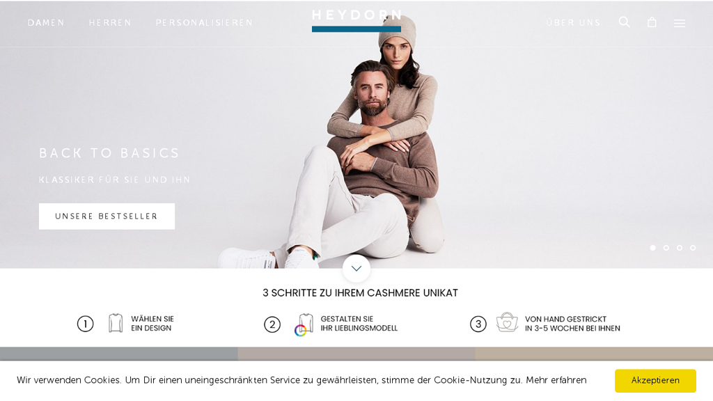 HEYDORN Online-Shop