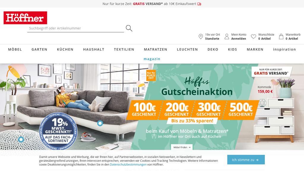 Höffner Online-Shop