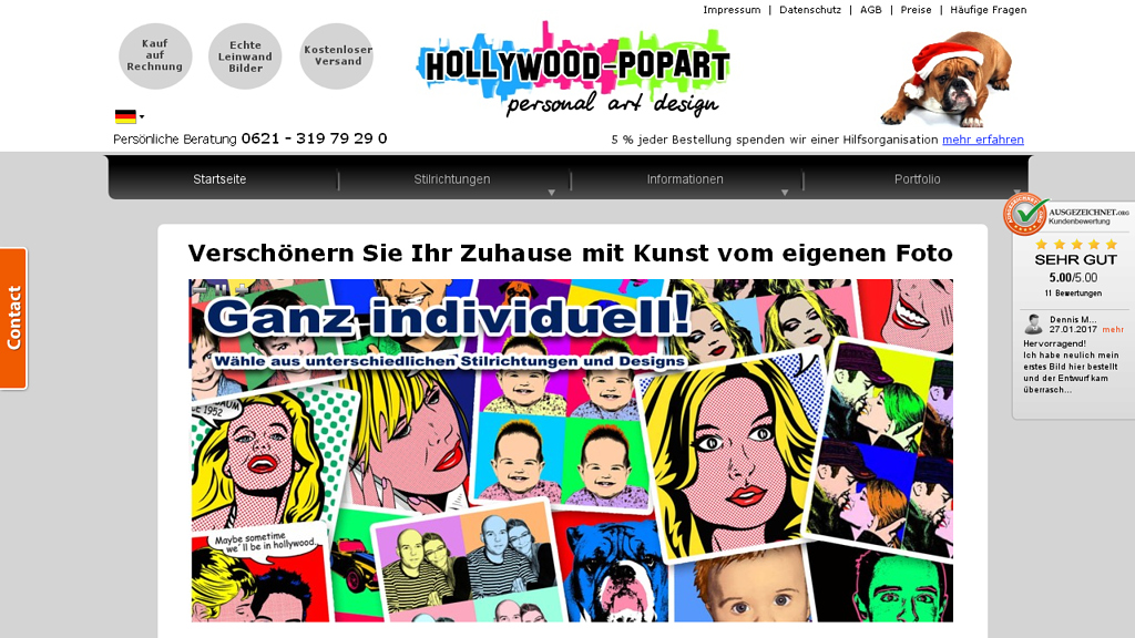 Hollywood Pop art Store