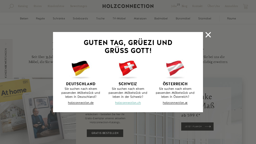 Holzconnection Online-Shop