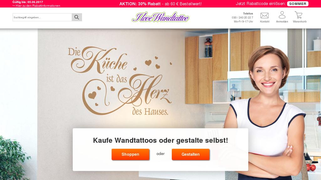 I-Love-Wandtattoo.de Online-Shop