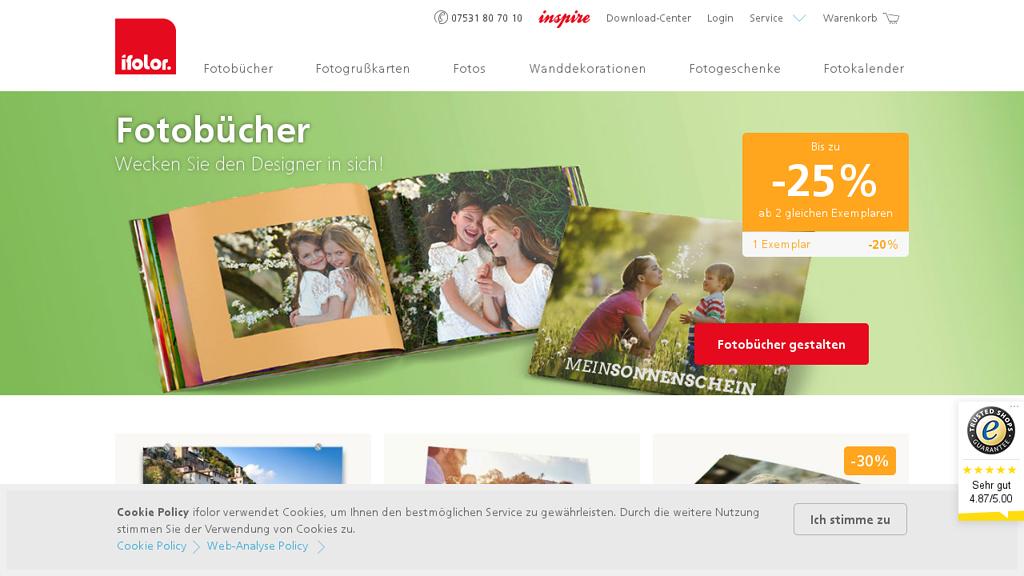 ifolor Online-Shop