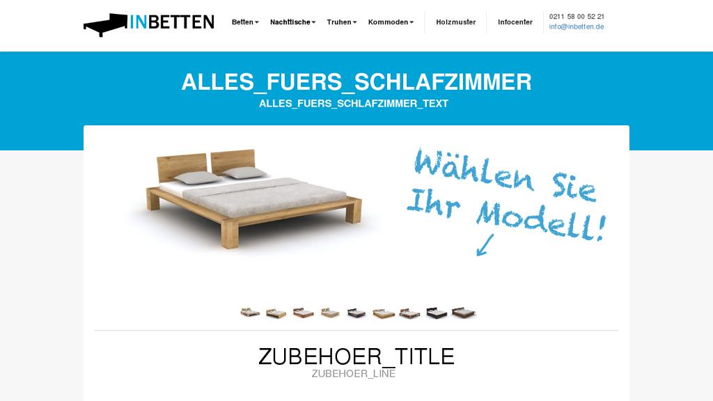 inBetten Online-Shop