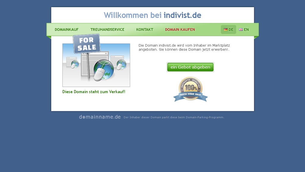 Indivist Online-Shop
