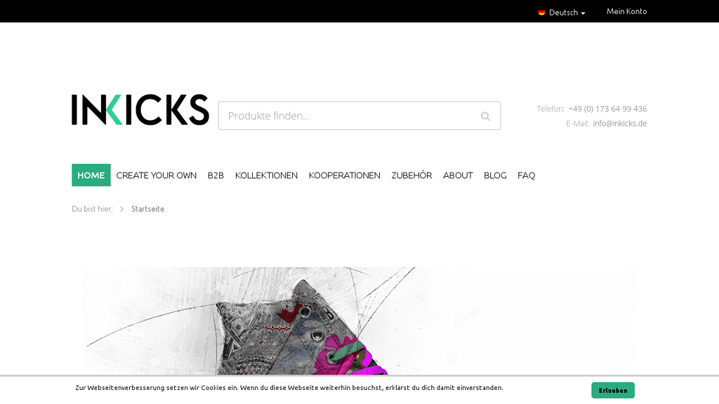 INKICKS Online-Shop