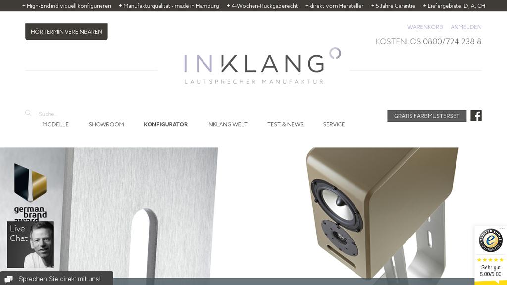 Inklang Online-Shop