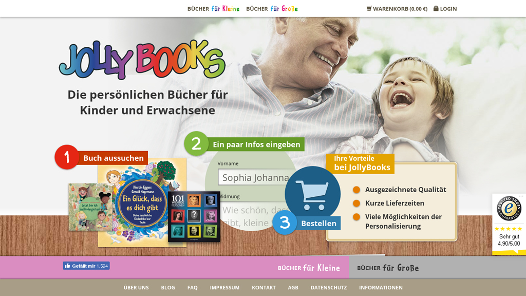 JollyBooks Online-Shop