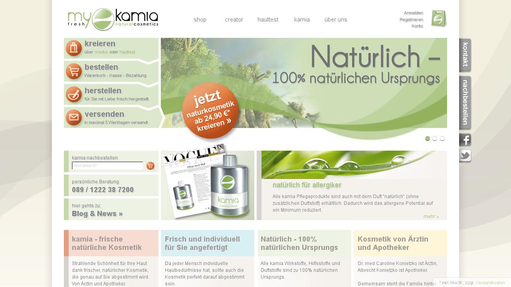 kamia Online-Shop