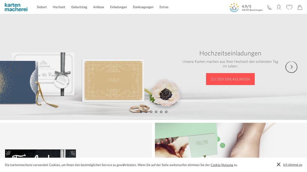 kartenmacherei Online-Shop