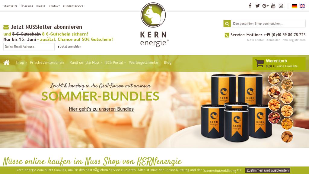 KERNenergie Online-Shop