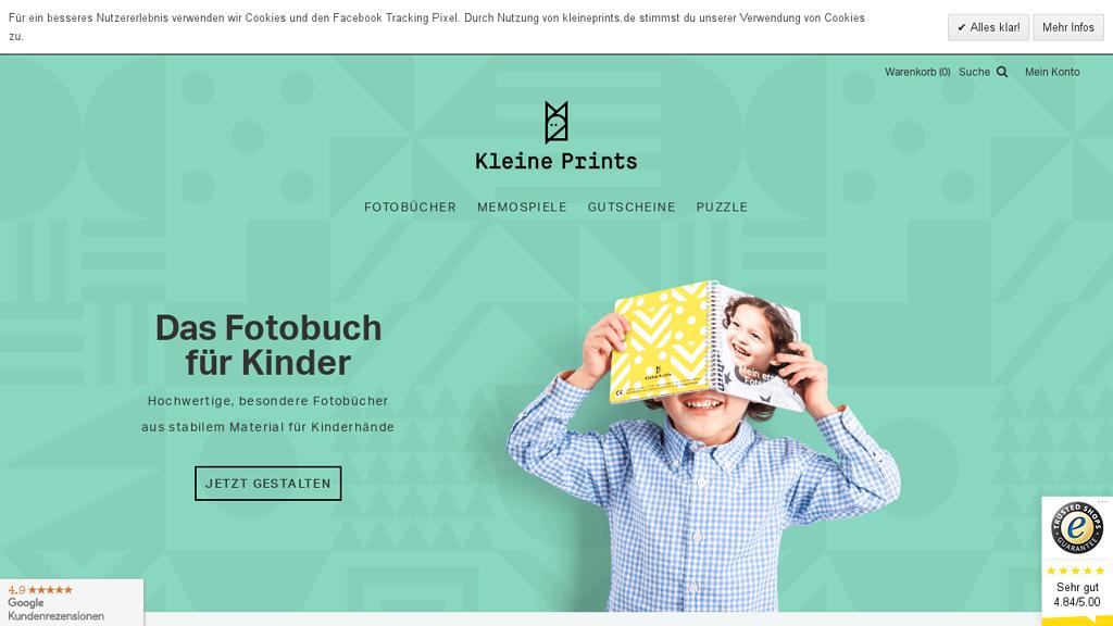 Kleine Prints Online-Shop