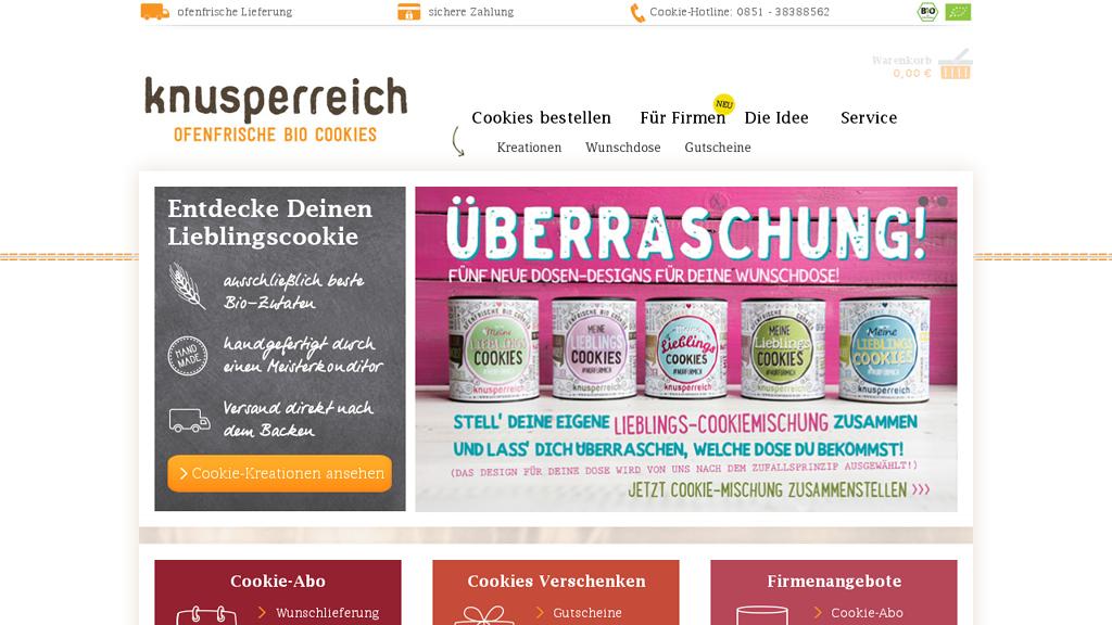 knusperreich Online-Shop