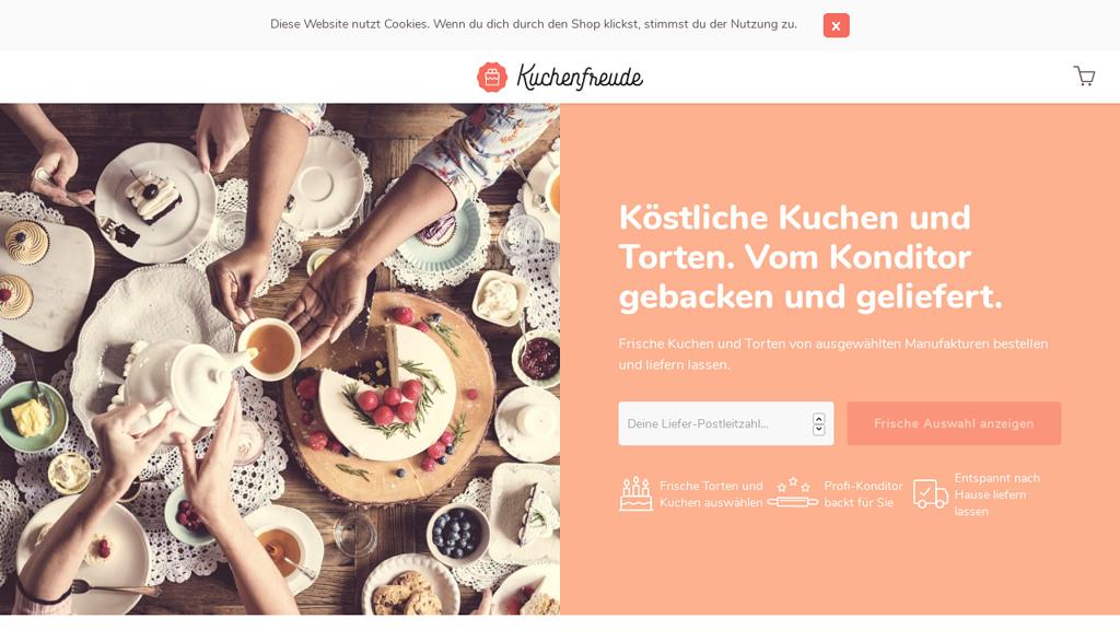 Kuchenfreude Online-Shop