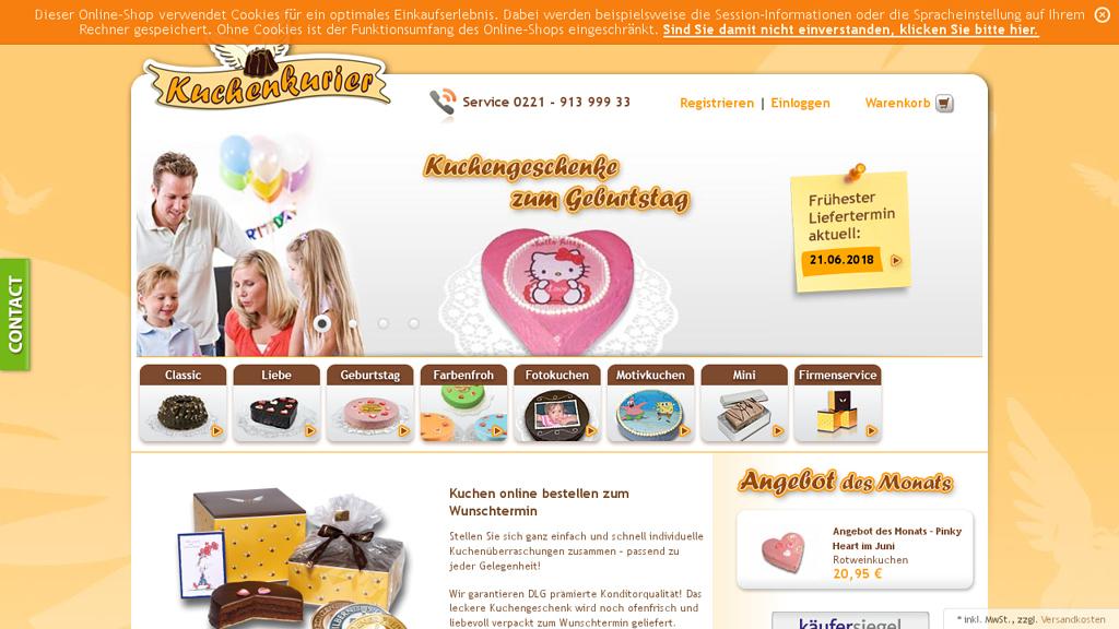 KuchenKurier Online-Shop