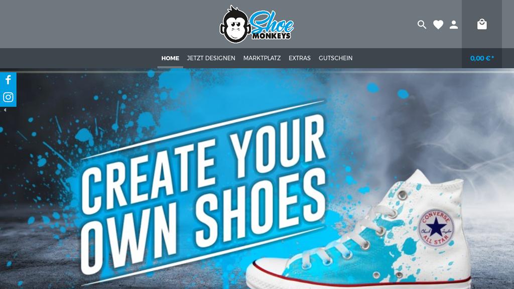 ShoeMonkeys Online-Shop