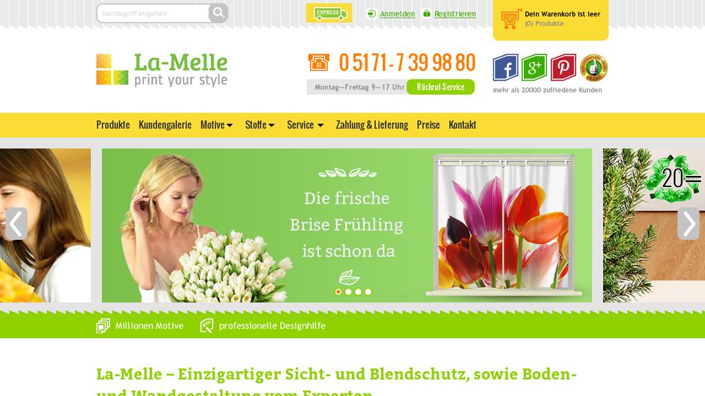 La-Melle Online-Shop