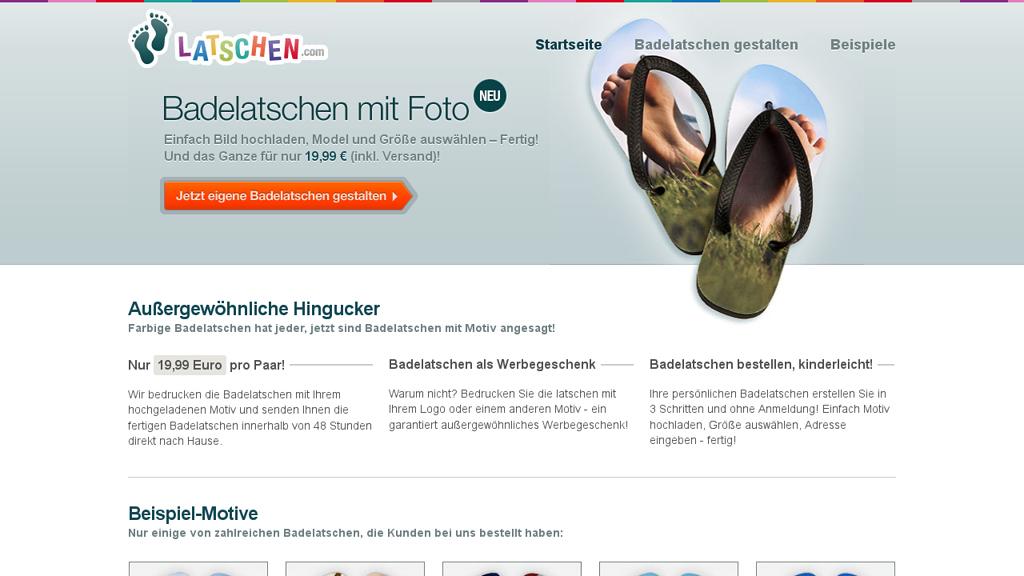 Latschen.com Online-Shop