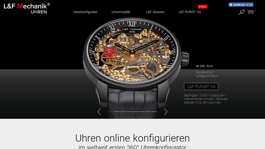 Armbanduhren Selbst Gestalten L F Mechanik
