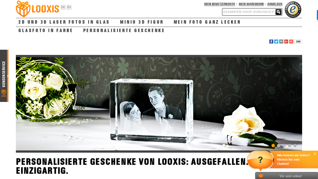 LOOXIS Online-Shop