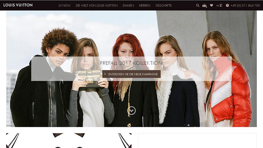 Louis Vuitton Online-Shop