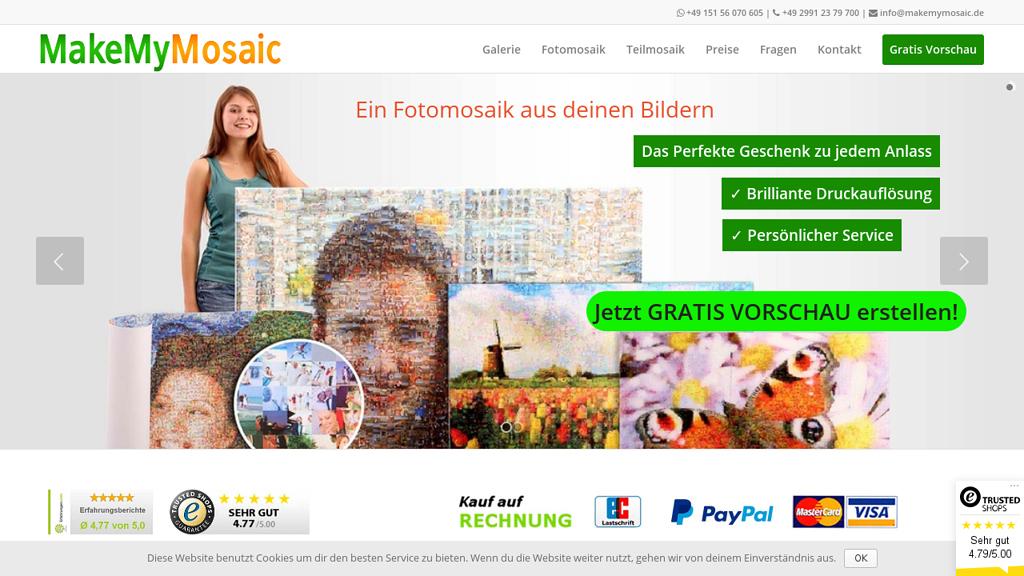 MakeMyMosaic Online-Shop