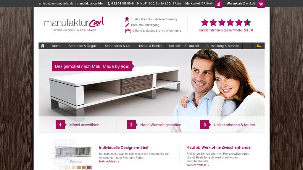 Manufaktur Carl Online-Shop