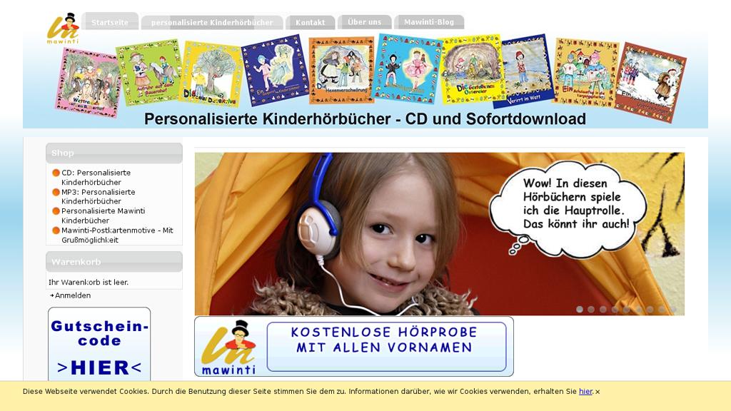 mawinti Online-Shop