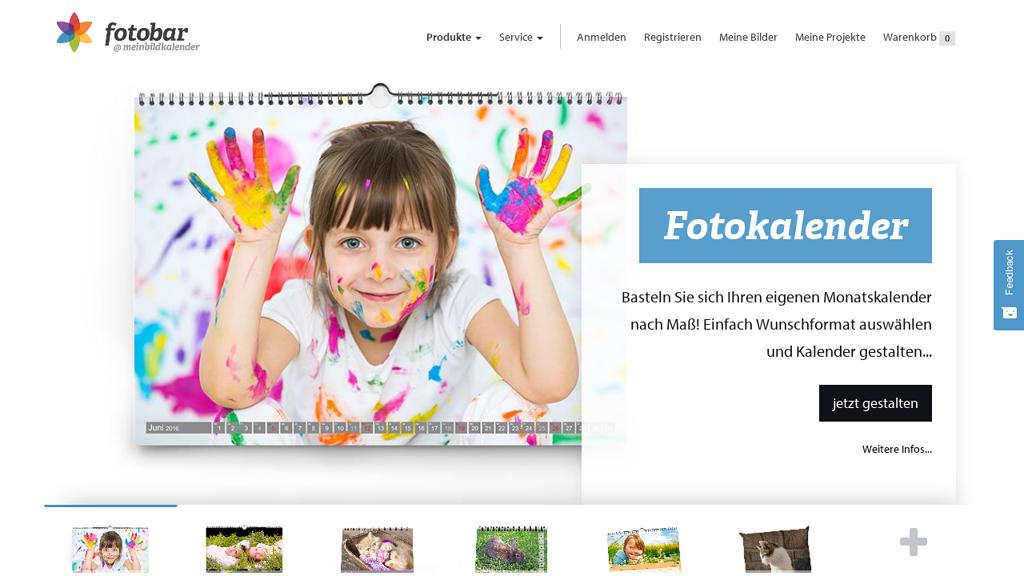 meinBildkalender Online-Shop