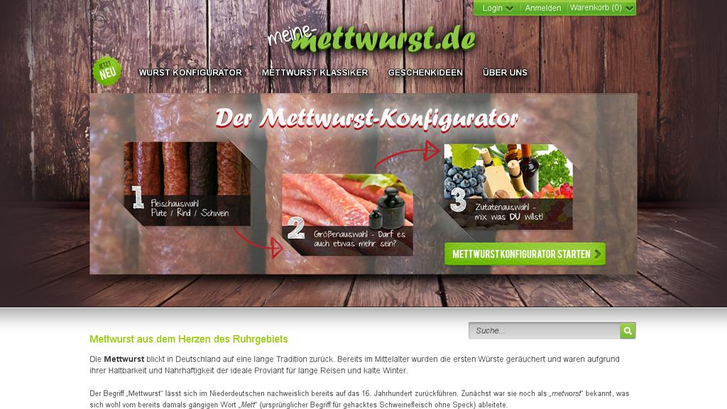 Meine Mettwurst Online-Shop