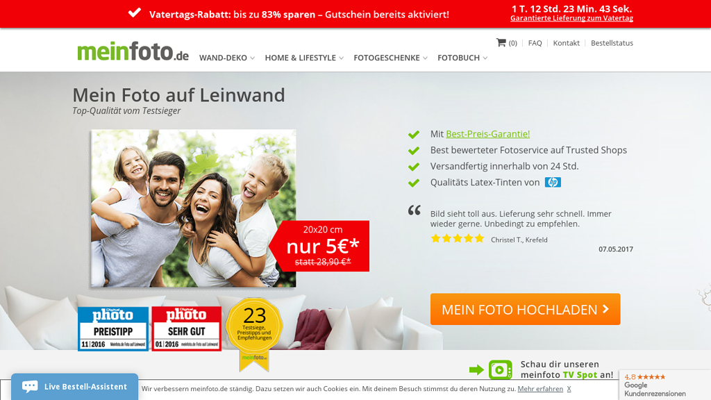 meinfoto.de Online-Shop